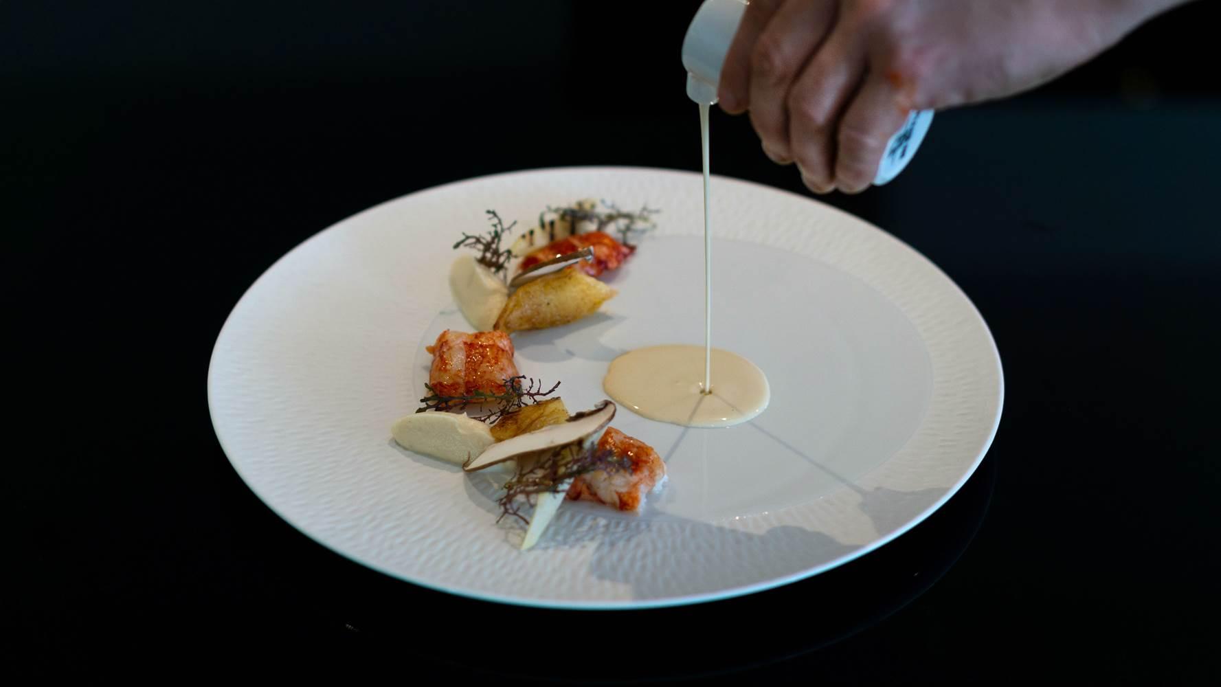 Queue de homard Restaurant L'Eskell Le Diana Hotel et Spa Nuxe Carnac Morbihan Bretagne-Sud ©