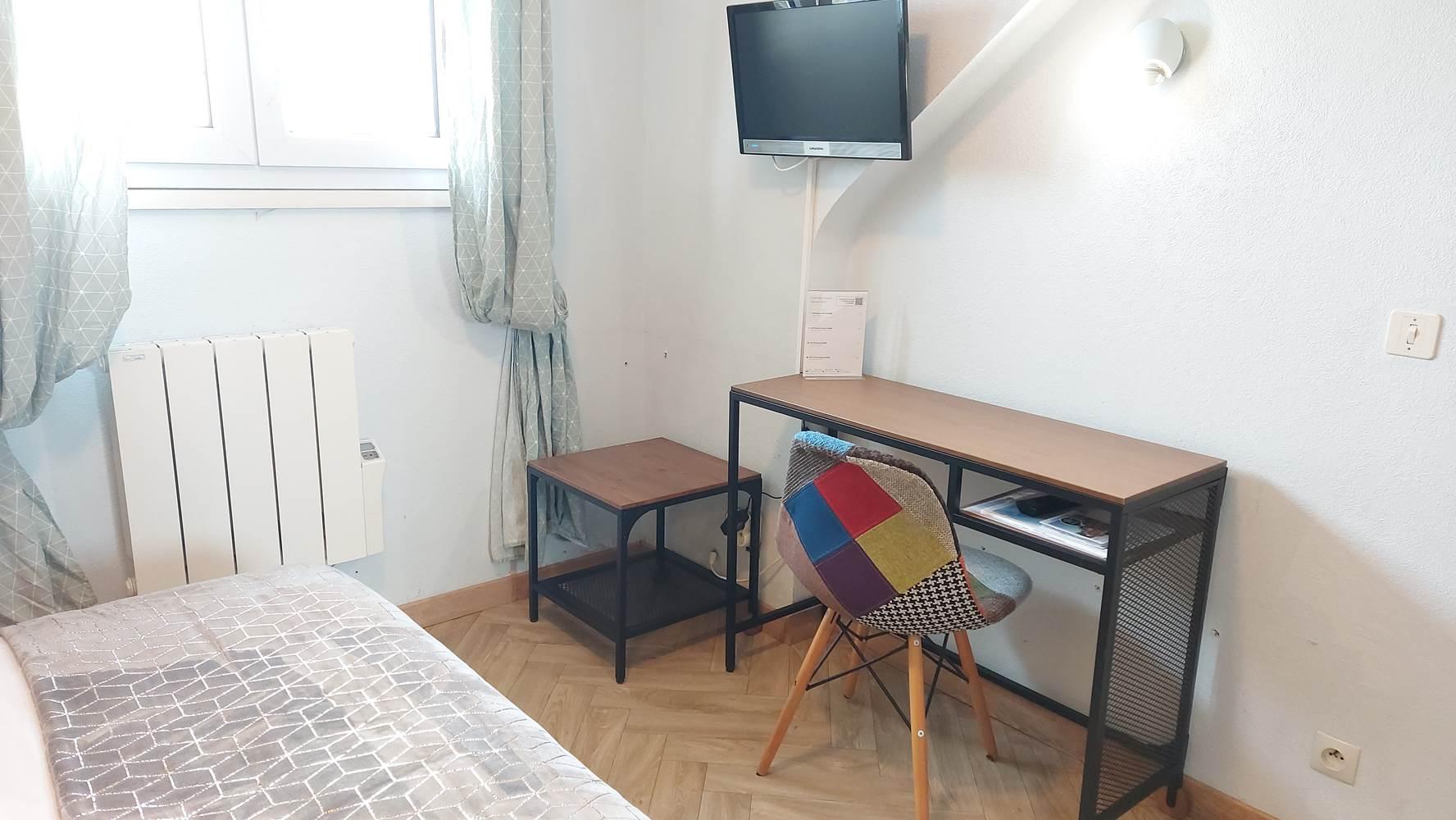 Chambre 9 - Petite chambre double ©