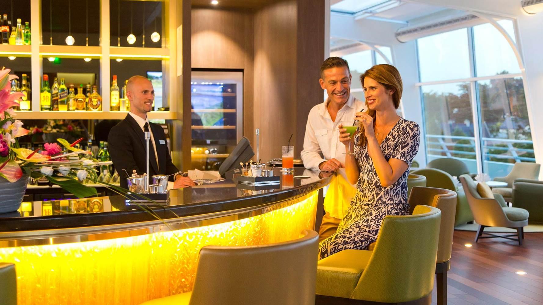 Couple au Bar Le Goéland ©