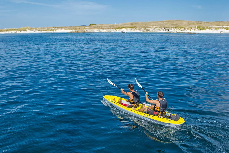 Club Nautique du Rohu - Location de Kayaks solos, doubles, triples ©