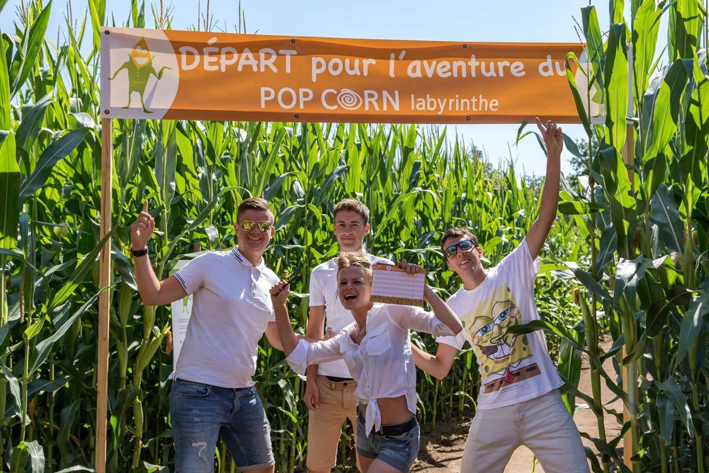Pop Corn Labyrinthe-Ploemel-Morbihan-Bretagne-sud-06 © ©Fabien MARTY