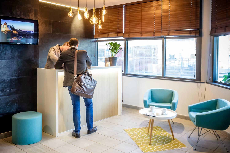 Réception hôtel BEST WESTERN PLUS Vannes centre-ville Morbihan Bretagne Sud ©