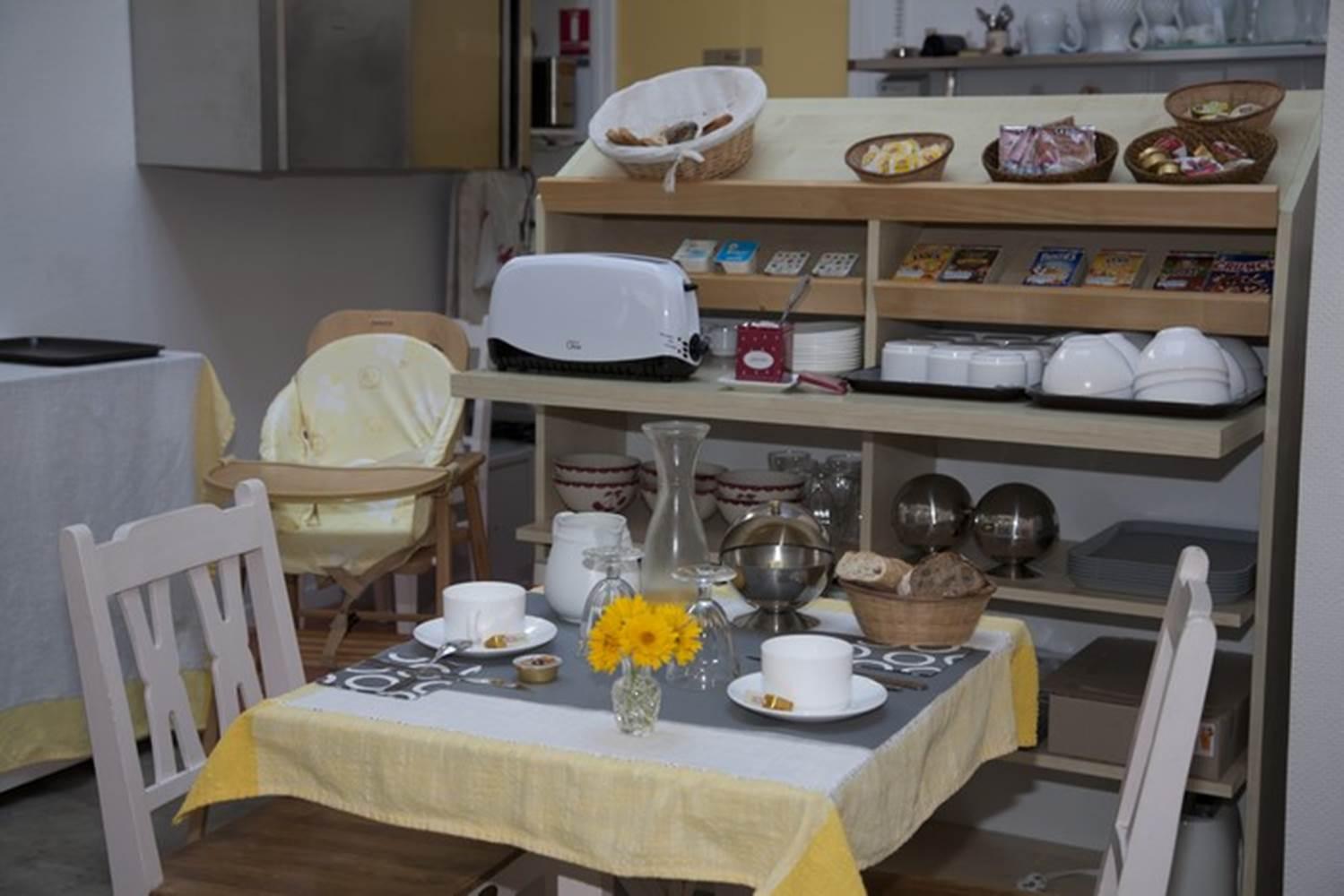 AR PEOC'H - Salle du petit-déjeuner - Morbihan - Bretagne Sud © MATHURIN