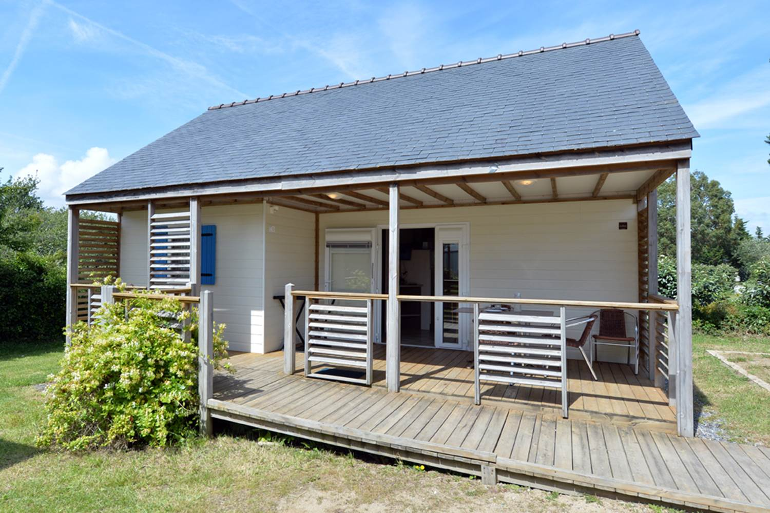 Chalet Origan accessible PMR Camping le Tindio ©