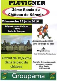 Rando du Château de Kéronic