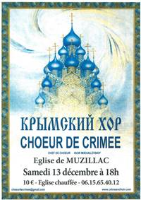Concert du Choeur de Crimée à Muzillac