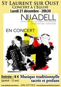 Concert du duo Nijadell