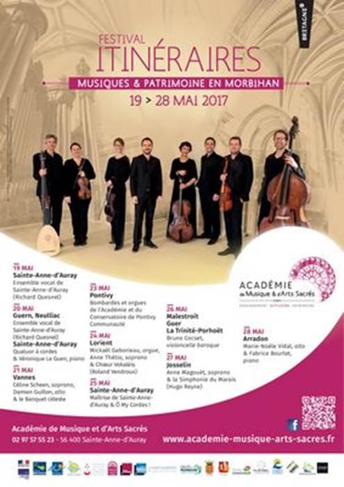 Festival Itinéraires - Musiques et patrimoine en Morbihan