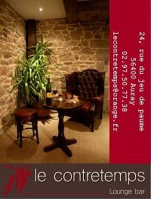 Apéros-concerts au Contretemps - Auray