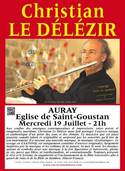 Concert de Christian Le Délézir