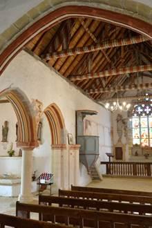 Visite de la chapelle de Locmaria