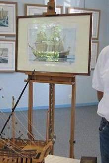 Exposition du peintre Raffin Caboisse