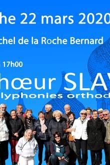 Concert Choeur SLAVA - Eglise