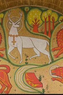 Visite symbolique de l'église du Graal - Août