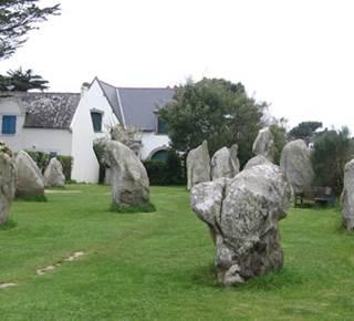Mégalithes de Kerbourgnec, St Pierre Quiberon