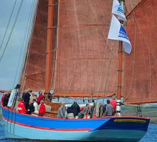 Le golfe du Morbihan en voilier du patrimoine