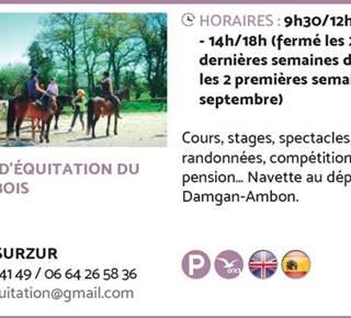 École d'Equitation du Petit Bois