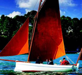 Le golfe du Morbihan en voilier traditionnel