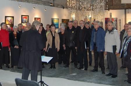 Concert de chorales La Sylvia (Ste-Anne d'Auray), accompagnée d'une chorale voisine