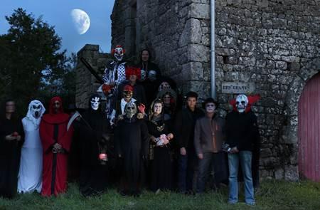 Les Menhirs d'Halloween : chemin de l'horreur