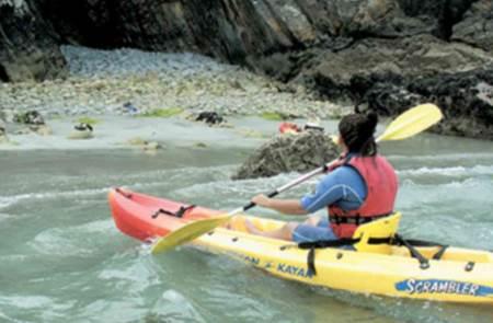 Balade en kayak à la pointe de Penvins