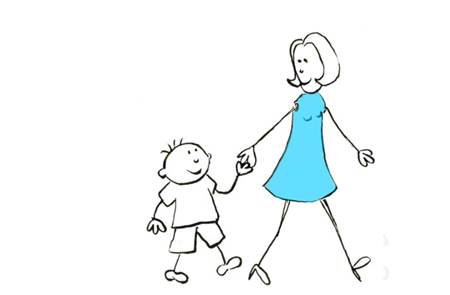 Libre expression artistique entre parent et enfant