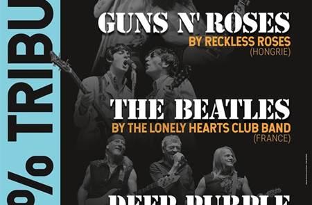 100% Tribute to Guns n' Roses, the Beatles & Deep Purple