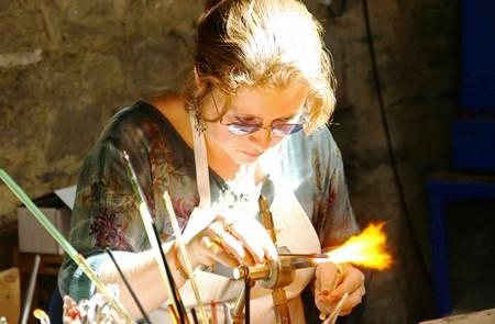 Aurélie LE FICHER - Verrier à la flamme