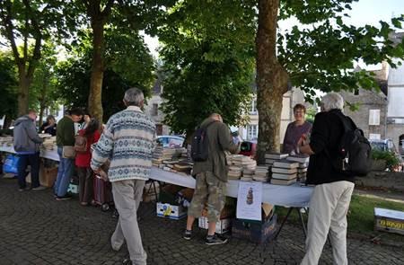 Foire aux livres au Faouët