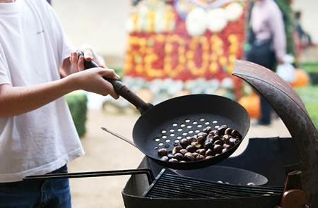 Marrons Grillés à la Fête des Fruits d'Automne à Peillac