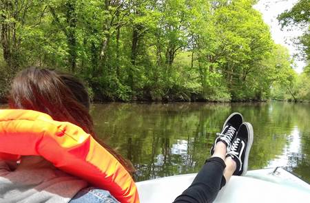 Echappée fluviale
