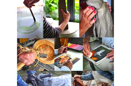 Portes ouvertes des ateliers d'artistes et d'artisans d'art de Locmariaquer