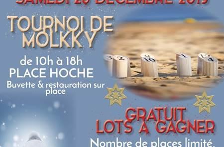 Tournoi exceptionnel de Molkky pour Noël