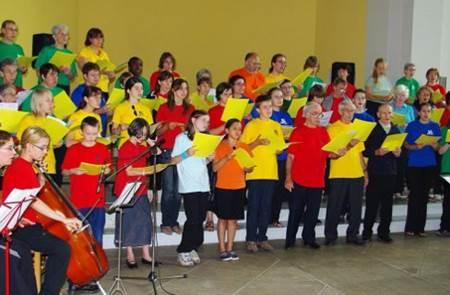 Chorale en concert à Kervoyal